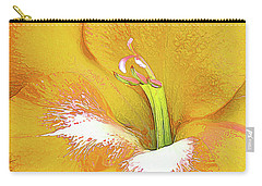 Big Glad In Yellow Carry-all Pouch