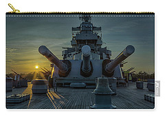 Big Guns At Sunset Carry-all Pouch