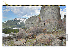 Big Horn Pass Rock Croppings Carry-all Pouch