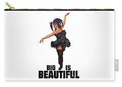 Big Is Beautiful Carry-all Pouch