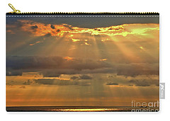 Carry-all Pouch featuring the photograph Big Island Rays by DJ Florek