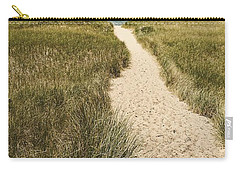 Carry-all Pouch featuring the photograph Big Lake Beach Path by Michelle Calkins