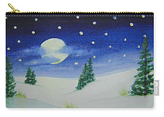 Big Moon Christmas Carry-all Pouch