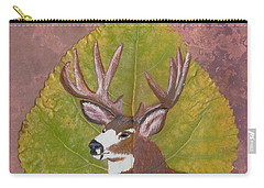 Big Mule Deer Buck Carry-all Pouch