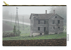 Big Old House In Fog Carry-all Pouch