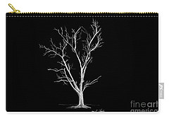 Big Old Leafless Tree Carry-all Pouch