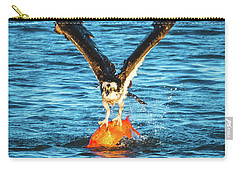 Big Orange Koi Fish Wins Carry-all Pouch