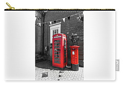 Carry-all Pouch featuring the photograph Big Red Little Red by Scott Carruthers
