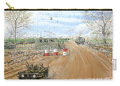 Big Red One Main Gate Di An Vietnam 1965 Carry-all Pouch