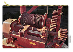 Big Red Winch Carry-all Pouch by Stephen Mitchell