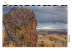 Big Rock At Lava Beds Carry-all Pouch