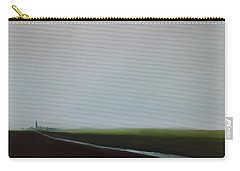 Carry-all Pouch featuring the painting Big Sky by Tone Aanderaa