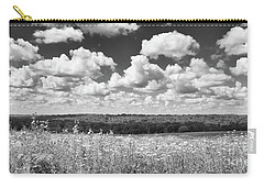 Carry-all Pouch featuring the photograph Big Sky - Wisconsin  by Ricky L Jones
