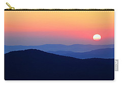 Big Sunrise Off Blue Ridge Parkway Carry-all Pouch