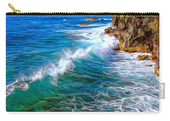 Big Sur Coastline Carry-all Pouch by Dominic Piperata