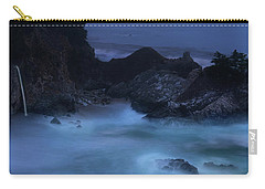 Carry-all Pouch featuring the photograph Big Sur Night by Dustin LeFevre