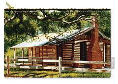 Big Thicket Information Center_the Staley Cabin Carry-all Pouch
