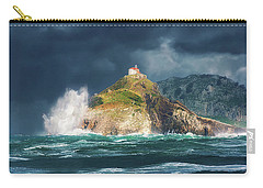 Big Waves Over San Juan De Gaztelugatxe Carry-all Pouch