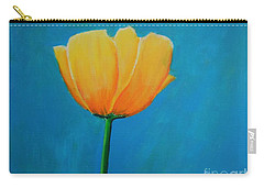 Big Yellow Tulip Carry-all Pouch