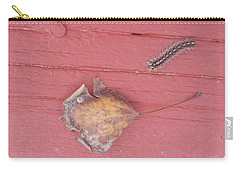 Bigger Than Me Caterpillar Leaf Carry-all Pouch