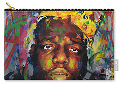 Carry-all Pouch featuring the painting Biggy Smalls II by Richard Day