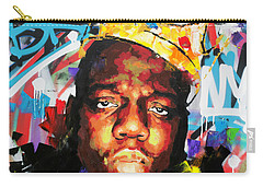 Carry-all Pouch featuring the painting Biggy Smalls IIi by Richard Day