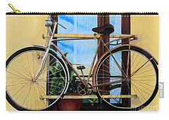 Bike In The Window Carry-all Pouch