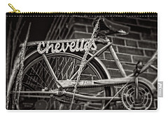 Bike Over Chevelles Carry-all Pouch by Greg Mimbs
