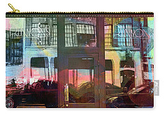 Carry-all Pouch featuring the digital art Bike Ride To Runyons by Susan Stone