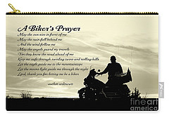 Biker's Prayer Carry-all Pouch