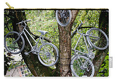 Bikes In A Tree Carry-all Pouch