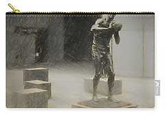 Bill Russell Statue Carry-all Pouch