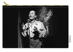 Billie Holiday  New York City Circa 1948 Carry-all Pouch by David Lee Guss