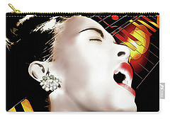 Billie Holiday Carry-all Pouch by Pennie McCracken