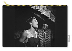 Billie Holiday William Gottlieb Photo New York City 1947 Carry-all Pouch