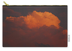 Billowing Clouds Sunset Carry-all Pouch
