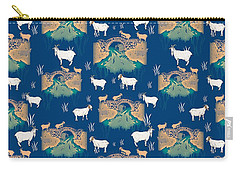 Billy Goat Gruff Carry-all Pouch by Beth Travers