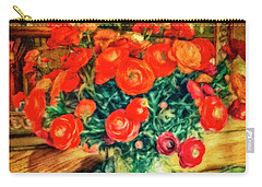 Billy's Flowers Carry-all Pouch
