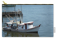 Bilouxi Shrimp Boat Carry-all Pouch by Cynthia Powell