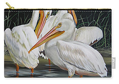 Carry-all Pouch featuring the painting Biloxi Bayou Lullaby by Phyllis Beiser