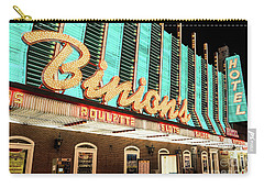 Carry-all Pouch featuring the photograph Binions Hotel And Casino by Aloha Art