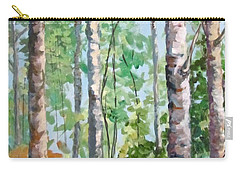 Birch Carry-all Pouch by Barbara O'Toole