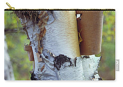 Birch Bark, Leaf And Nest Carry-all Pouch