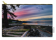Birch Bay Sunrise Carry-all Pouch