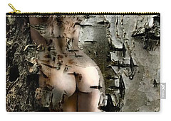 Birch Beauty Carry-all Pouch by Tlynn Brentnall