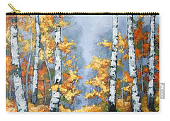 Birch Forest Path Carry-all Pouch