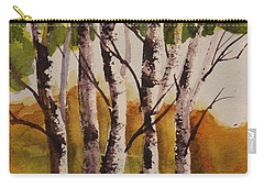 Birch Carry-all Pouch by Marilyn Jacobson