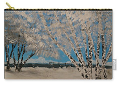Birch Snow Carry-all Pouch