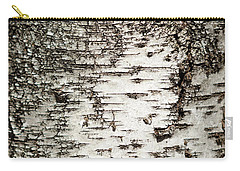 Carry-all Pouch featuring the photograph Birch Tree Bark by Christina Rollo
