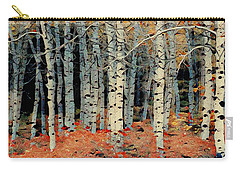 Birch Tree Forest 1 Carry-all Pouch